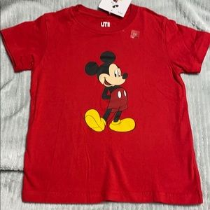Disney Mickey Mouse Tee Shirt - Red